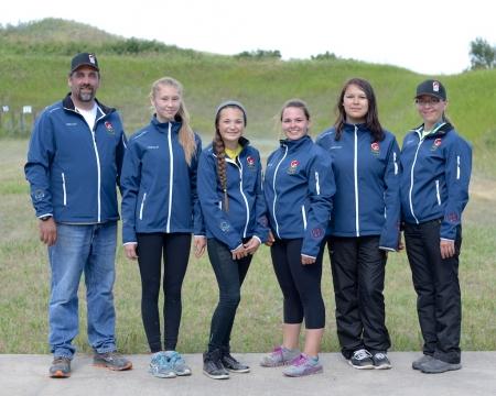 NAIG 2014 Rifle Shooting Team