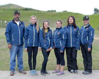 NAIG 2014 Rifle Shooting Team